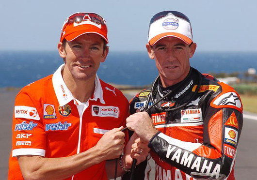 Troy Bayliss, Troy Corser, Phillip Island photo picture
