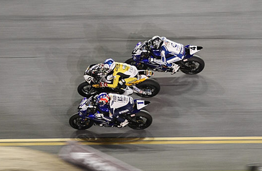Daytona 200 race action