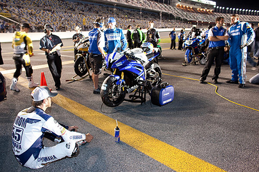 Daytona 200 starting line 2009