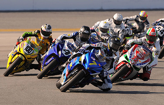 Daytona Superbike 2009 race start