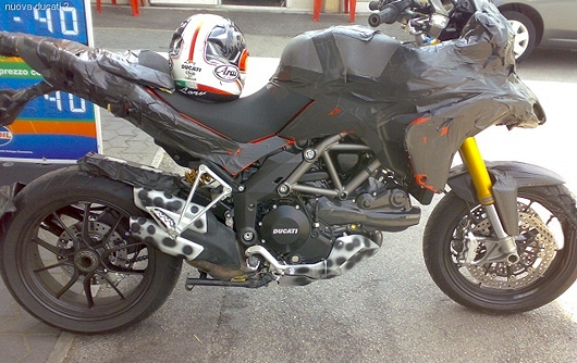 Ducati 2010 Multistrada spy photo