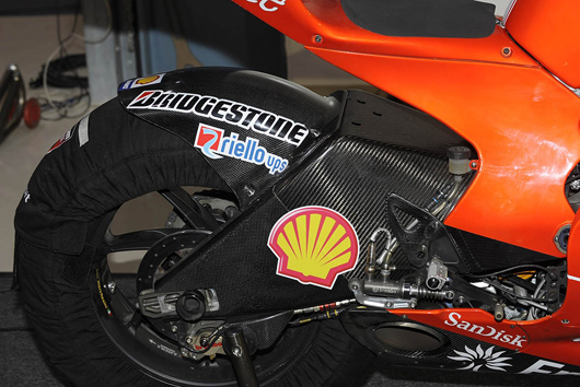 Ducati GP09 Carbon Fibre Swingarm