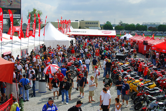 Ducati Island at Indianapolis