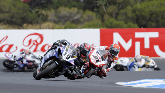 Phillip Island Race Two Ben Spies