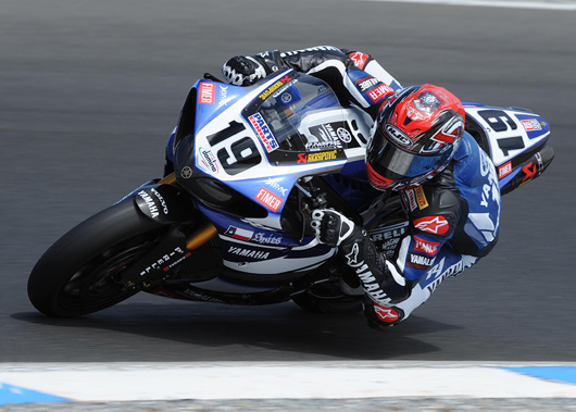 Ben Spies Team Yamaha World Superbike