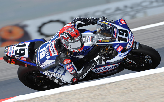 Ben Spies action photo Miller World Superbike