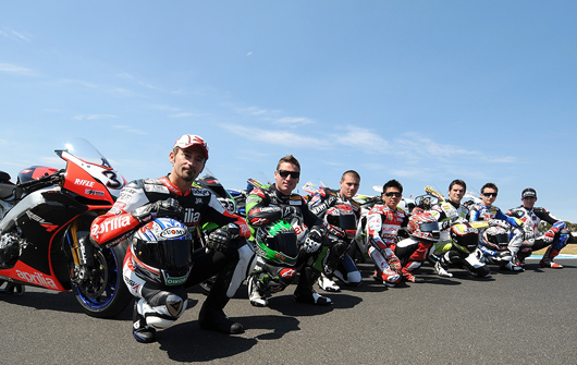 World Superbike 2009 Magnificant Top 7 riders