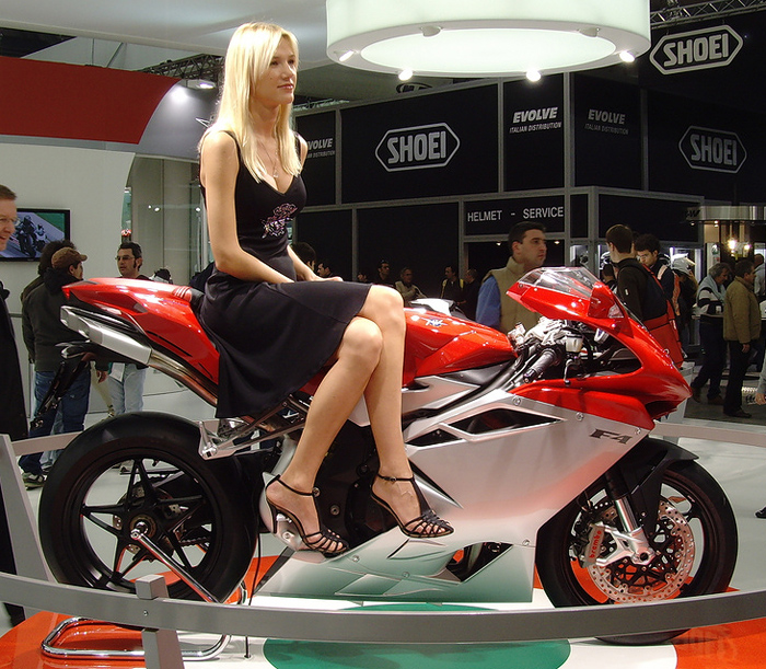 MV Agusta F3 675cc EIMCA Show photo