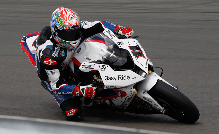 Troy Corser action photo