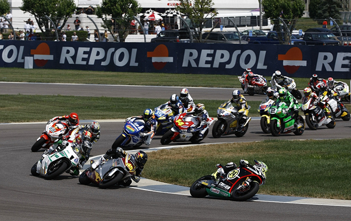 Moto2 start Indianapolis