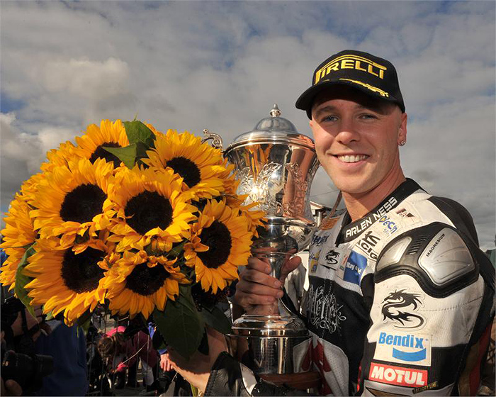 Michael Laverty Sunflower race photo