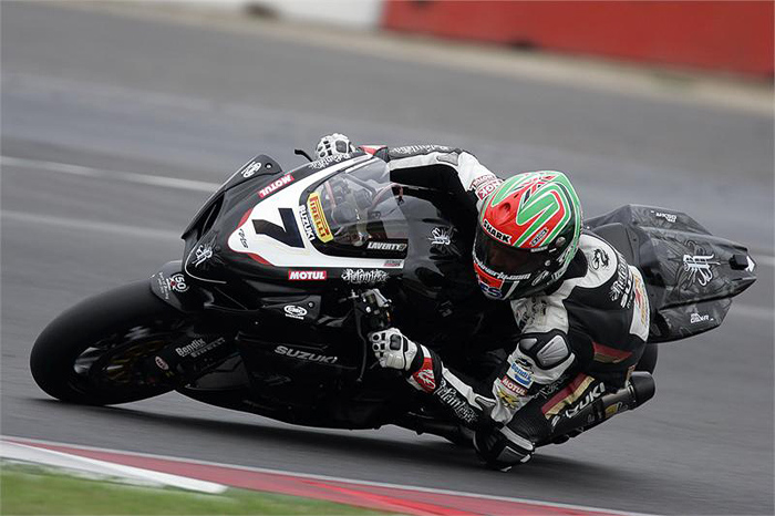 Michael Laverty Relentless Suzuki action photo picture