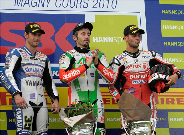 Magny-Cours Superbike Podium Race 2