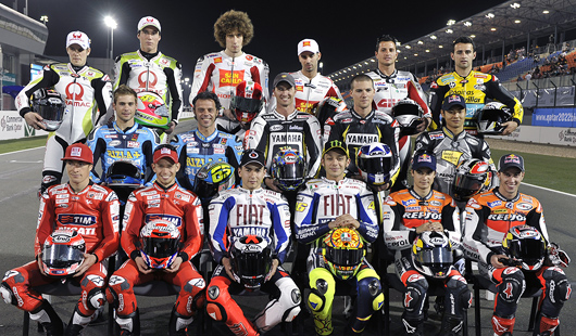 2010 MotoGP riders teams