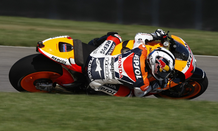 Dani Pedrosa action photo Indianapolis