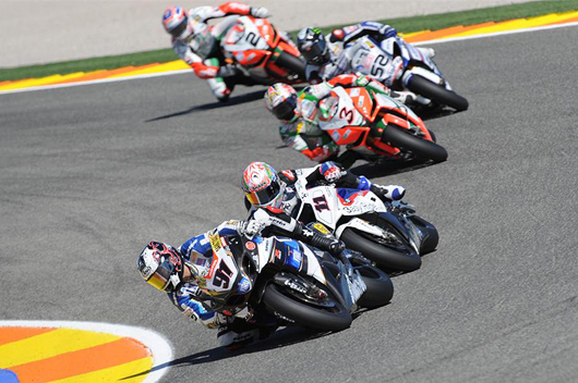 Valencia SBK Action