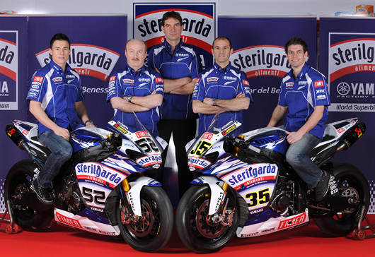 Yamaha 2010 World Superbike team photo