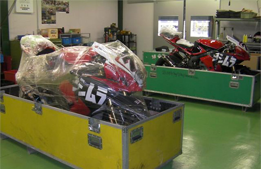 Yoshimura world superbikes