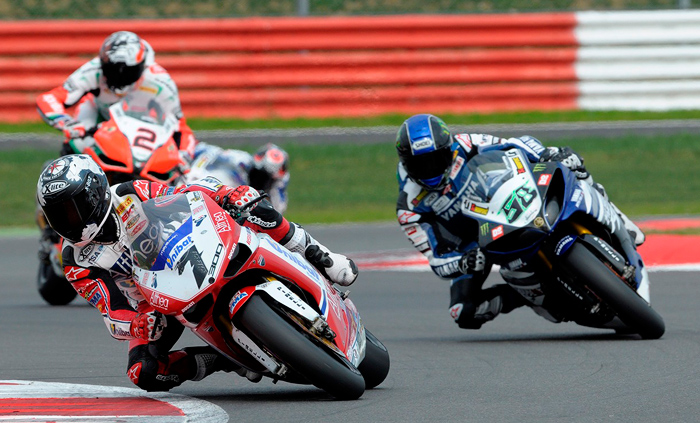 Silverstone World Superbike race action photo picture