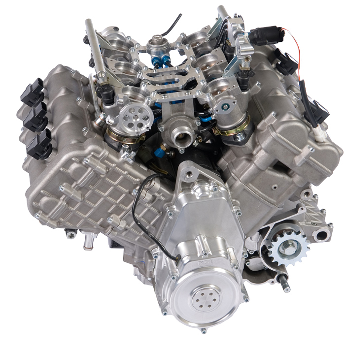 FVR V6 engine photo