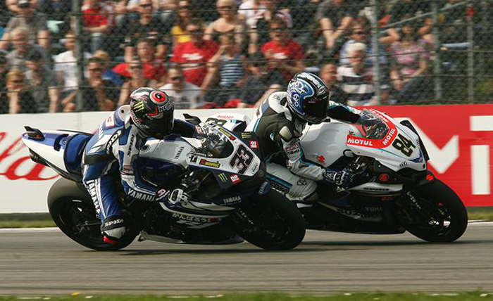 Michele Fabrizio, Marco Melandri, Assen World Superbike race photo