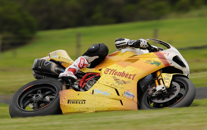 Sylvain Guintoli Phillip Island World Superbike photo picture