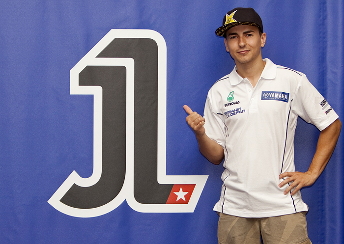 Jorge Lorenzo Number one 1 MotoGP 2011 2010picture photo