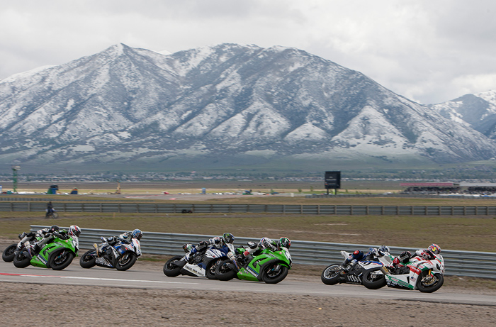 Miller World Superbike race action photo