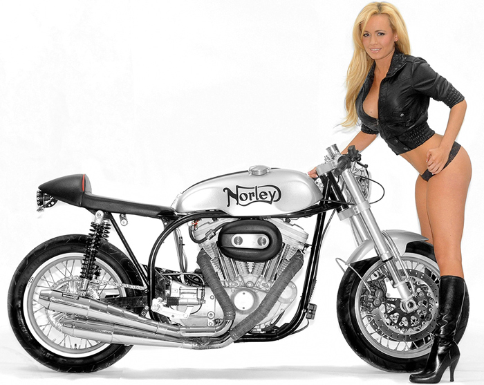 Norly Sport cafe racer photo
