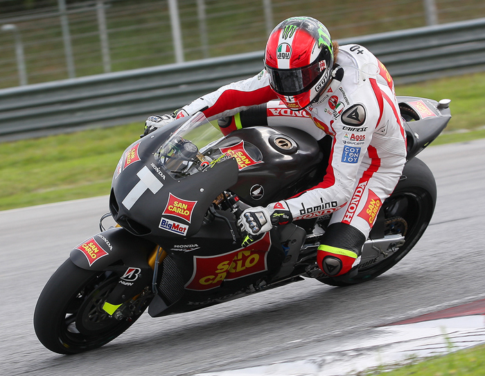 Marco Simoncelli Honda rider photo