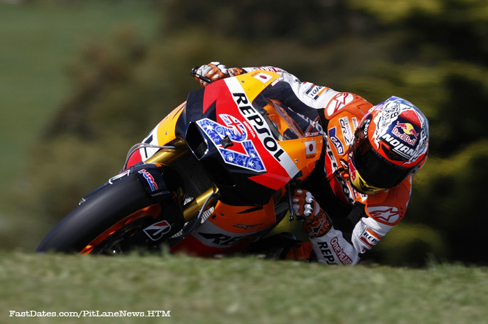 Casey Stoner 2011 MotoGP World Champion