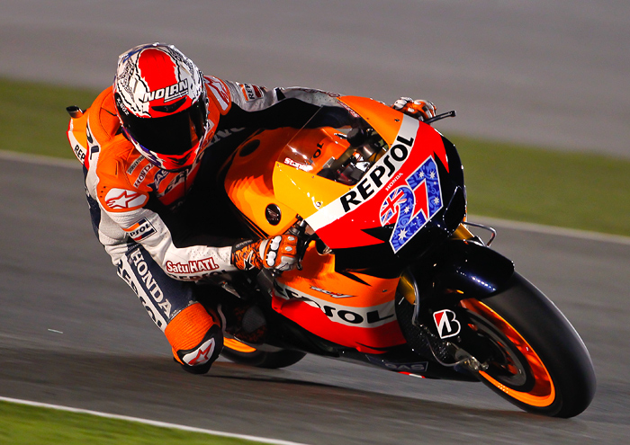Casey Stoner Honda Qatar photo