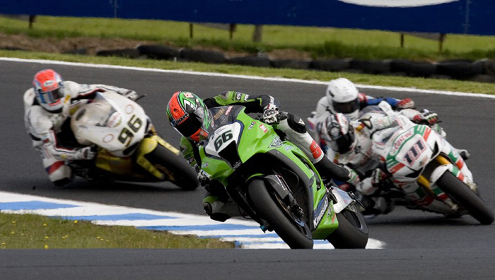 Tom Sykes Kawasaki ZX10 Phillip Island World Superbike