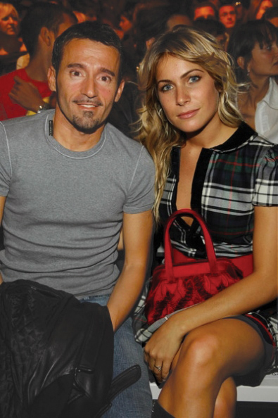 Max Biaggi and girlfriend