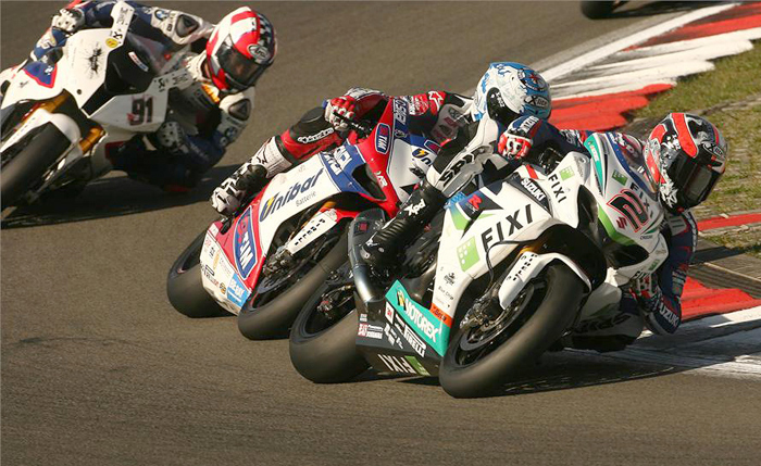 Leon Camier action world Superbike