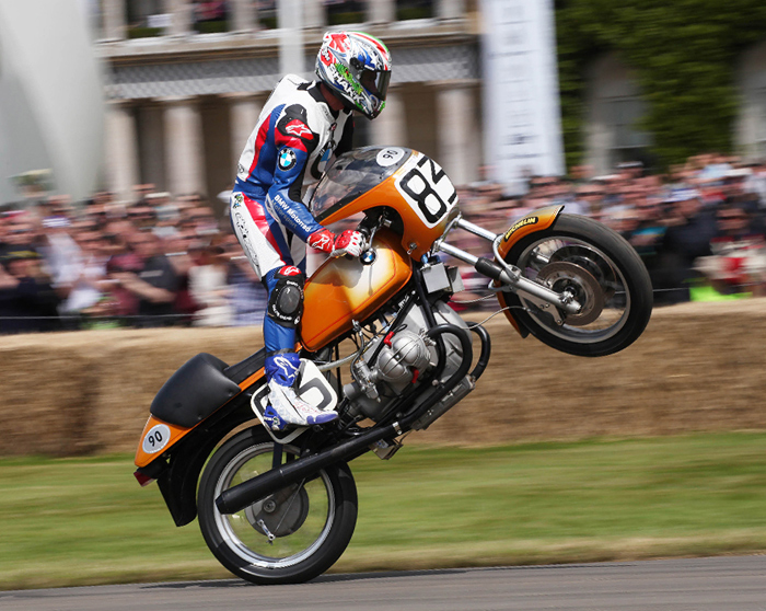 Troy Corswer BMW Goodwood Festival