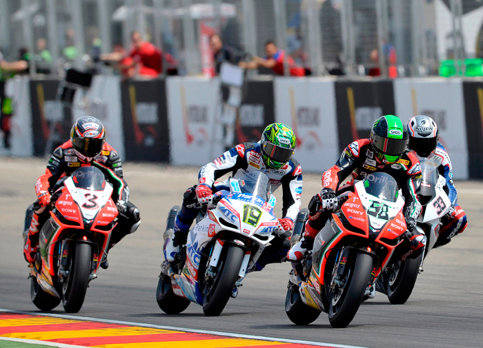 Aragon World Superbike race two