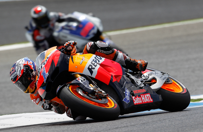 Casey Stoner action picture