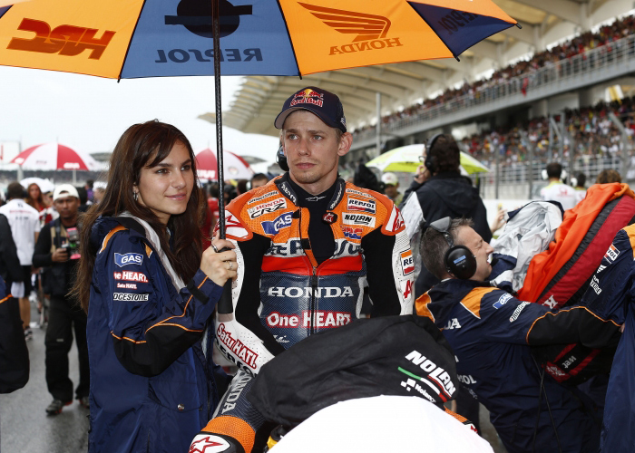 Casey and Andrea Stoner MotoGP