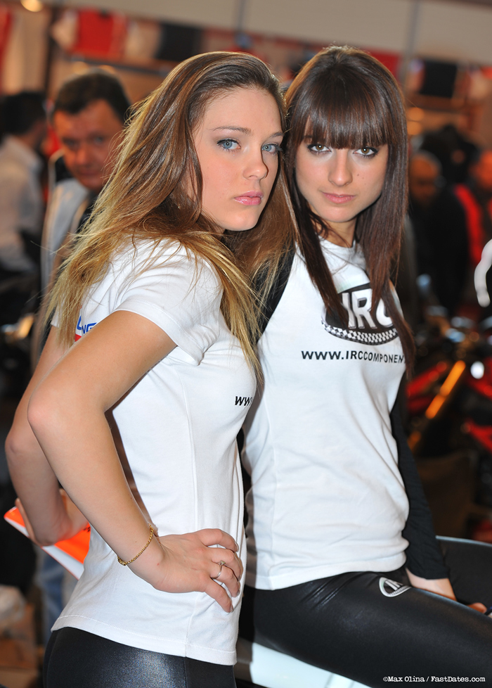 Verona Motorcycle Show girls
