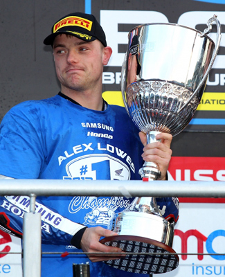 Alex Lowes 2013 Bitish Superbike Champion photo