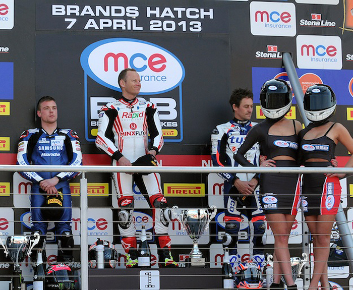 Brands Hatch 2013 podium