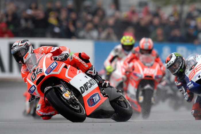 Dovizioso Ducati Lemans MotoGP photo