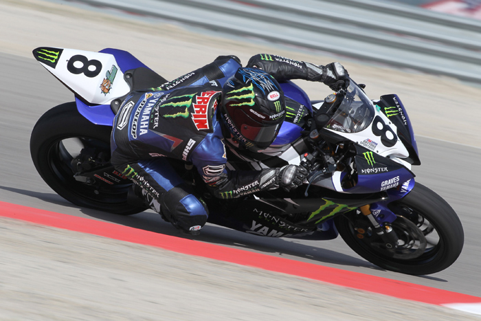 Josh Herrin action racing photo