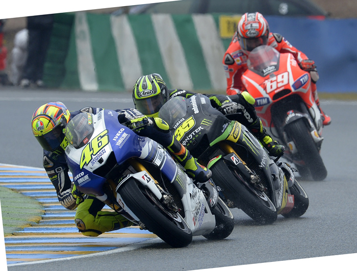 Lemans action photo MotoGP