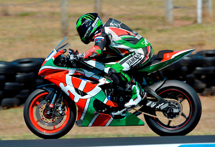 Sam Lowes Yamaha action photo