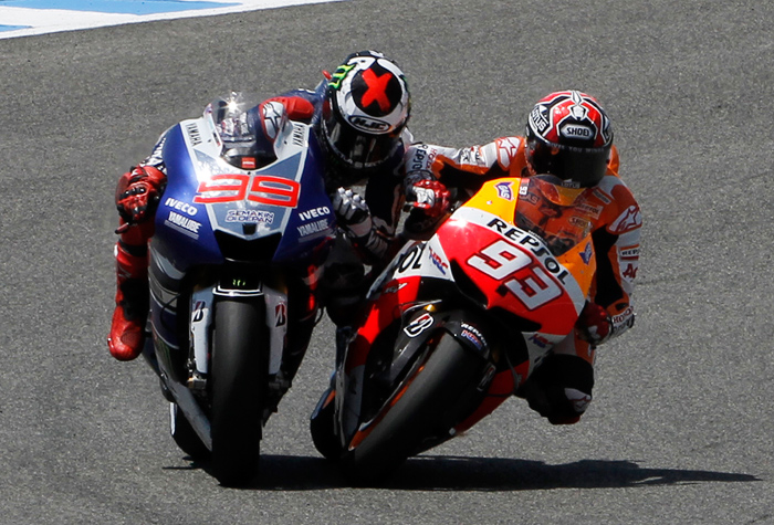 Marc Marquez action photo Austin MotoGP