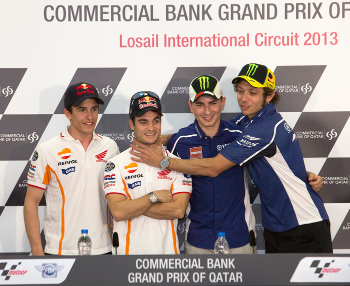 MotoGP 2013 top riders rivals