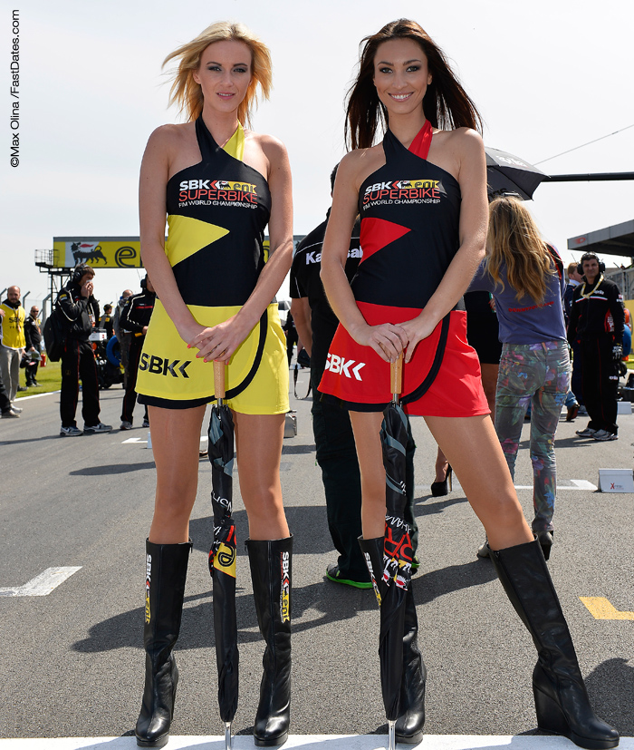 SBK World Superbike Girls grid photos