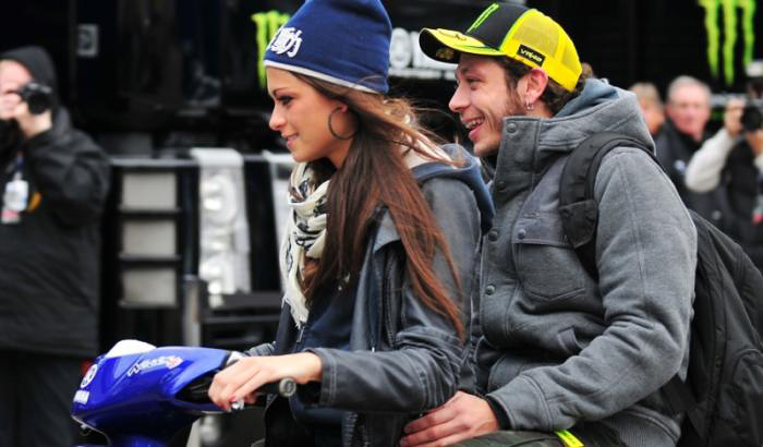 Valentino Rossi Girlfriend Linda Morselli